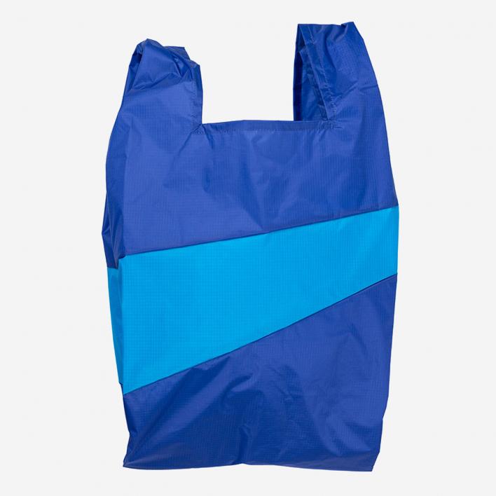 Susan Bijl The New Shoppingbag L Electric Blue & Sky Blue
