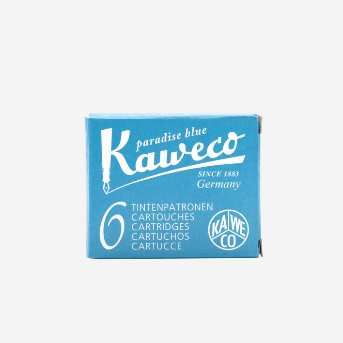 Kaweco Tintenpatronen - Paradise Blue