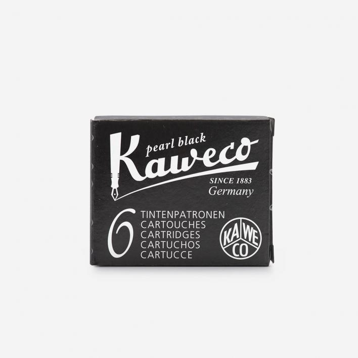 Kaweco Tintenpatronen - Perlenschwarz