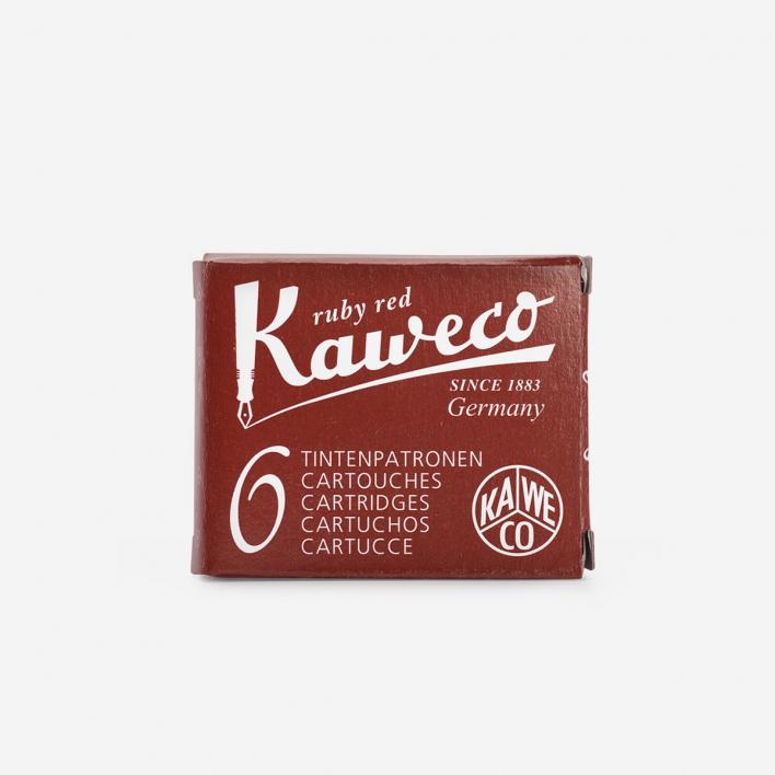 Kaweco Tintenpatronen - Rubinrot
