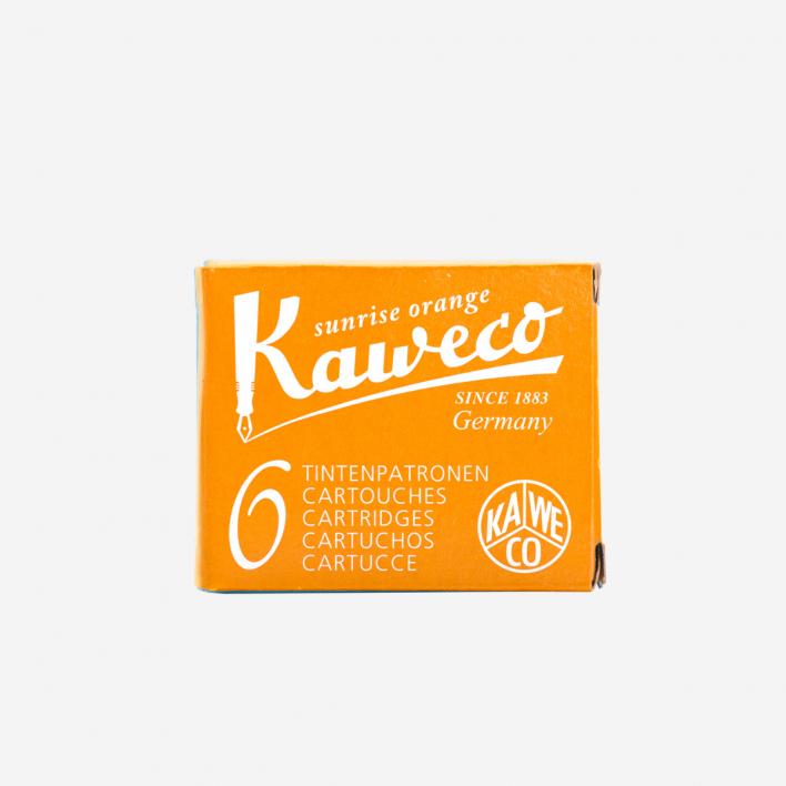 Kaweco Tintenpatronen - Sunrise Orange