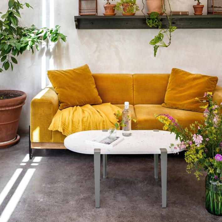 Tiptoe Tischbein / Bein für Sitzbank – 43 cm