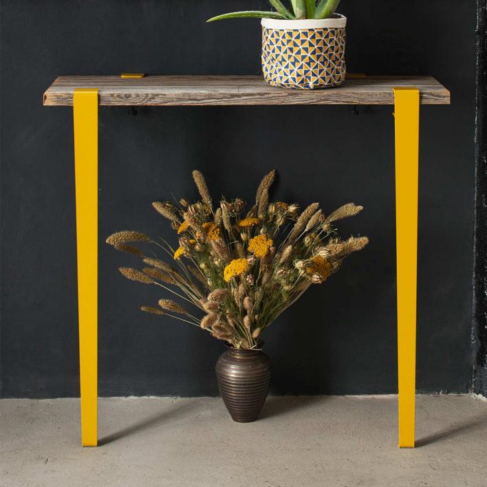 Tiptoe Tischbein für Theken / Tresentisch – 90 cm Rosemary Green