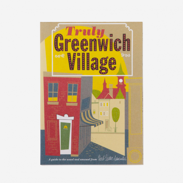 Herb Lester Associates Truly Greenwich Village City Guide