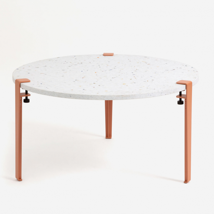 Tiptoe VENEZIA Recycled Plastic Coffee Table – Wohnzimmertisch aus recyceltem Plastik