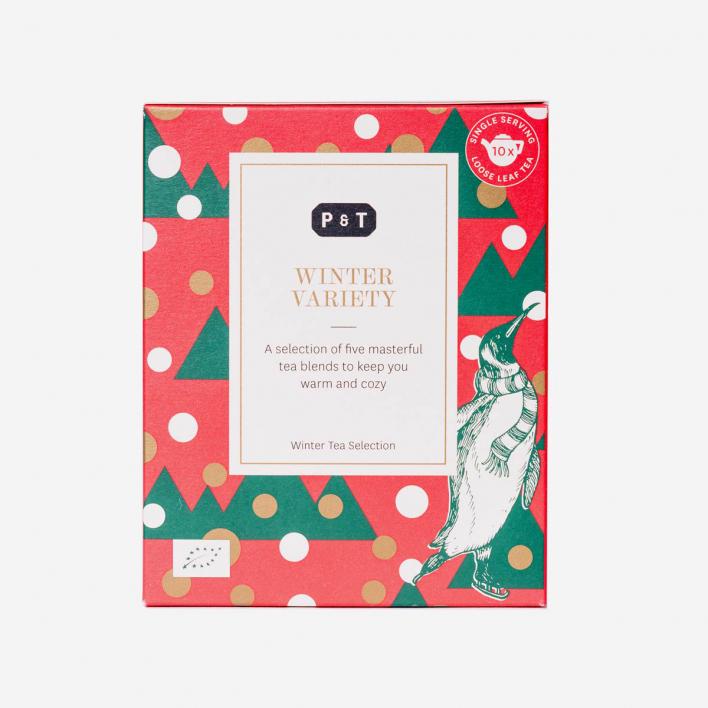 P & T - Paper & Tea Winter Variety Box - 5 Teemischungen in Geschenkbox