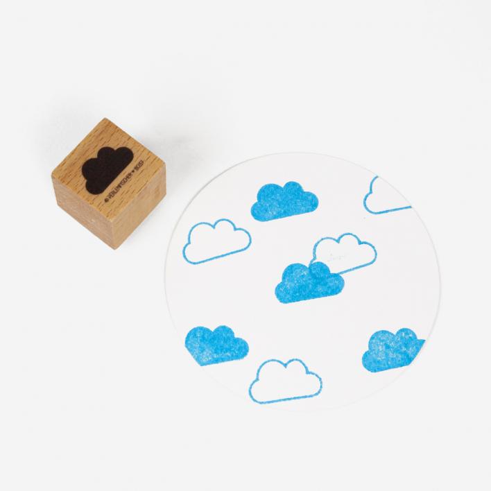 Perlenfischer Little Cloud Stamp