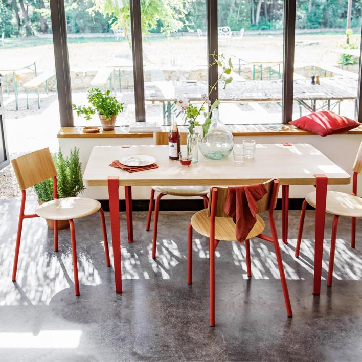 Tiptoe Tischbein für Schreibtisch / Esstisch – 75 cm