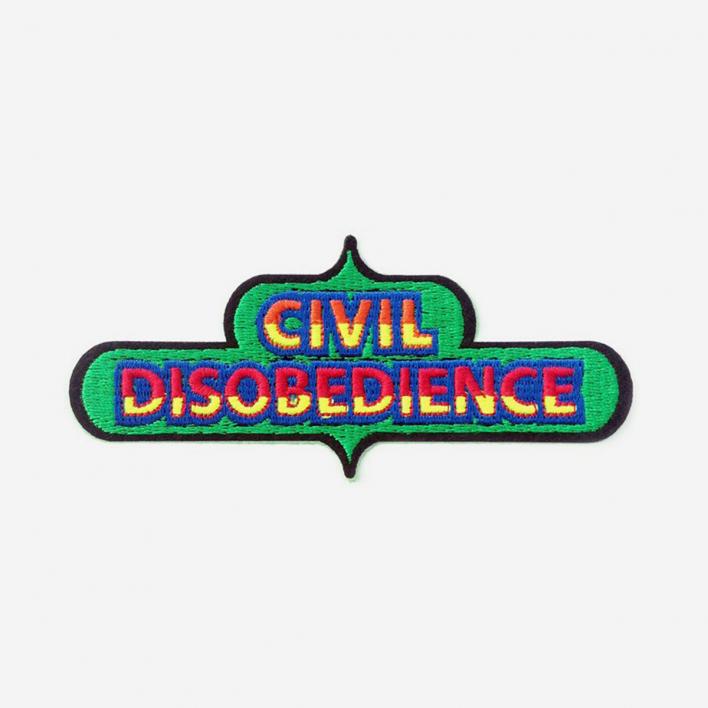 Macon & Lesquoy Repair Patch Civil Disobedience