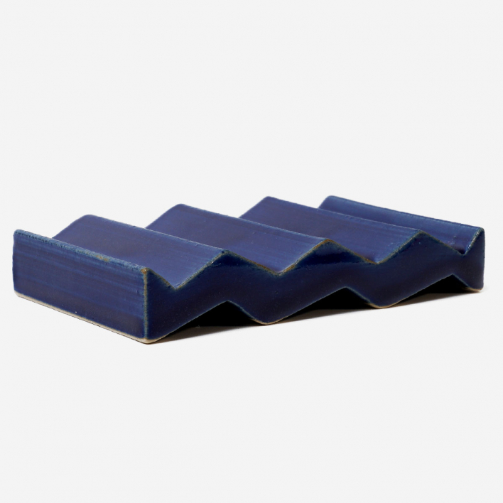 OBAstudios Soap Dish ROCKY M. Blue