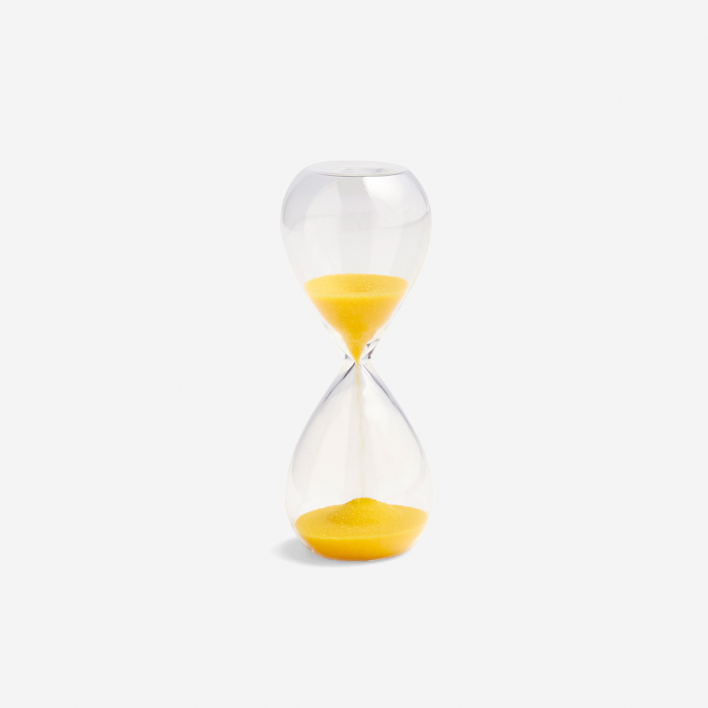 HAY Sanduhr Time 3 Minuten - Lemon Yellow