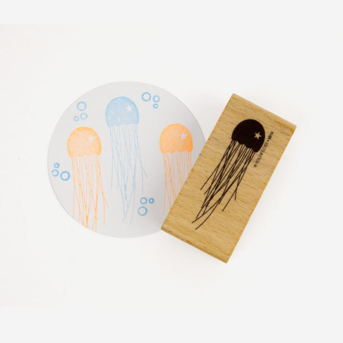 Perlenfischer Jellyfish Stamp