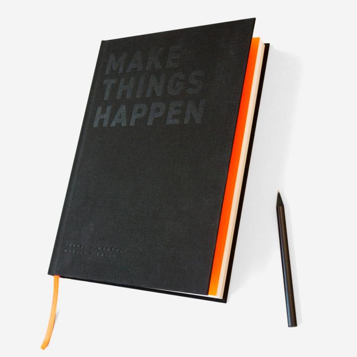 Fox & Poet Make Things Happen - Weekly Planner / Organizer