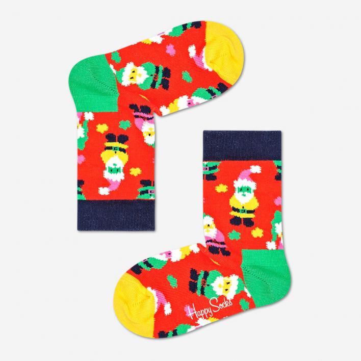 Happy Socks Kids Santa Socken
