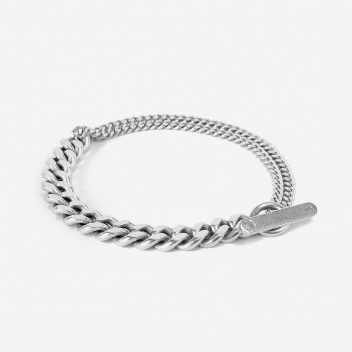 Saskia Diez Grand Mixed Armband -  925 Sterling Silber