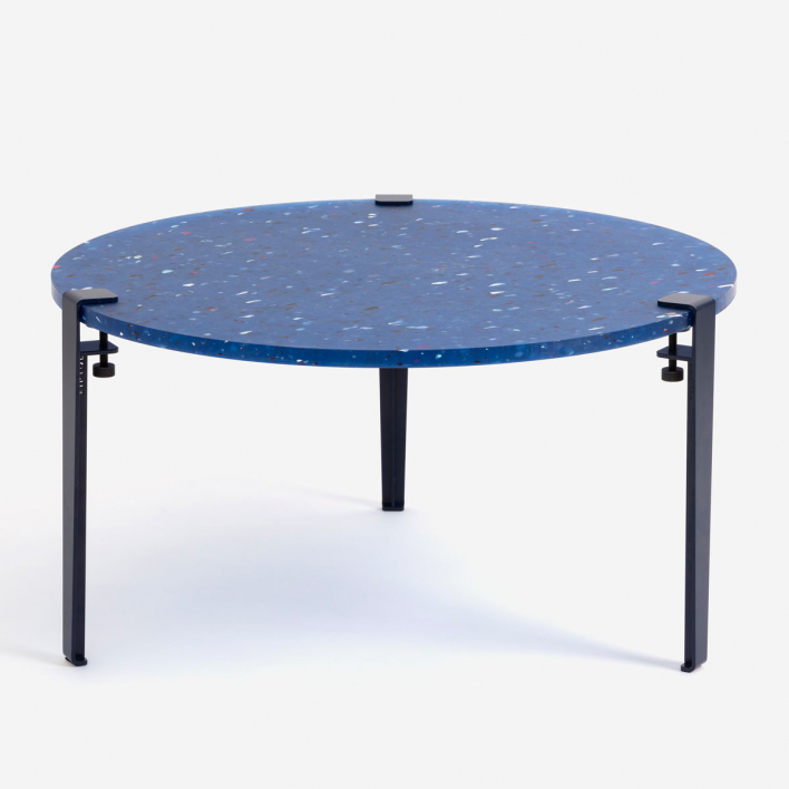Tiptoe PACIFICO Recycled Plastic Coffee Table – Wohnzimmertisch aus recycletem Plastik