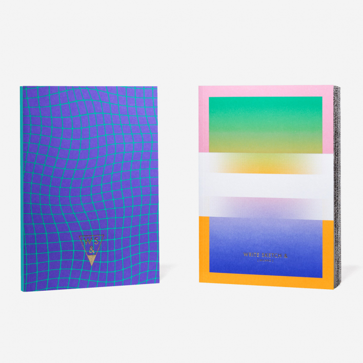Write Sketch & Super Net Notebook