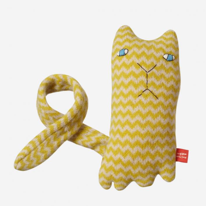 Donna Wilson Ziggy Cat Kuschel-Creature