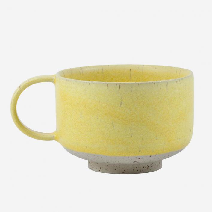 Studio Arhoj Mion Mug Lemon Zest – handgemachte Steingut-Teetasse