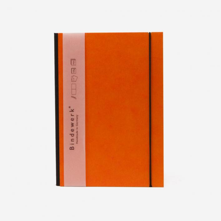 Bindewerk Notizbuch Inspiration Color A5 - orange