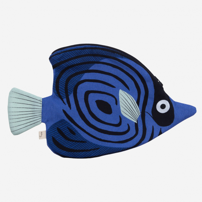 Don Fisher Australia Butterfly Fish Blue - Case