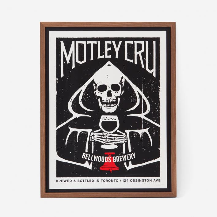 Doublenaut Motley Cru Siebdruck