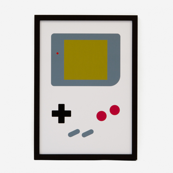 edition rikiki Gameboy Siebdruck