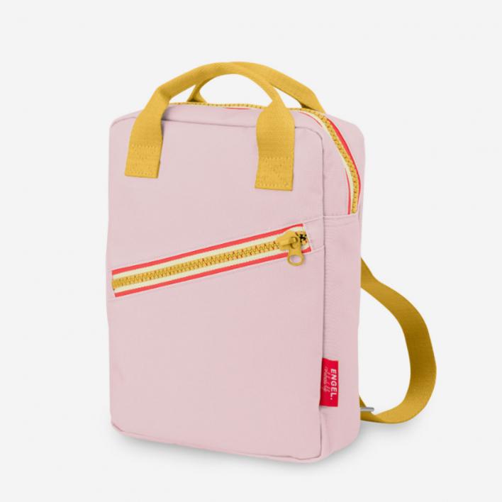 Engel Zipper New Pink – Kids Rucksack aus recyceltem PET