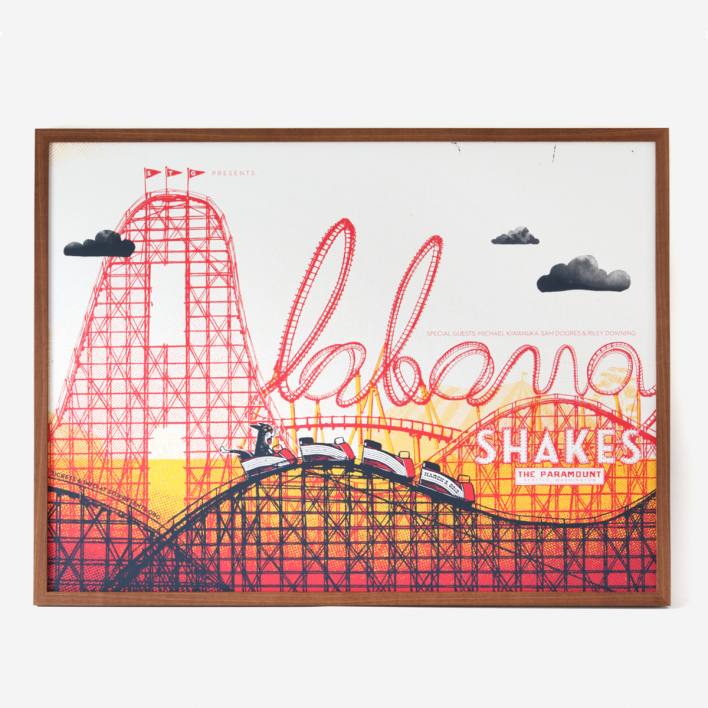 Factory 43 Alabama Shakes XL Screenprint Poster