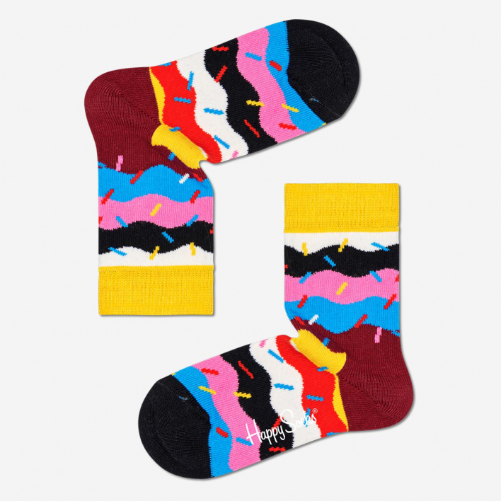 Happy Socks Kids Birthday Cakes Sprinkles Socken 2-3 Jahre