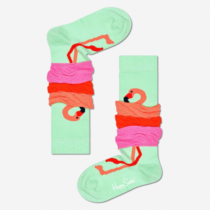 Happy Socks Kids Flamingo Knee High Socken 2-3 Jahre