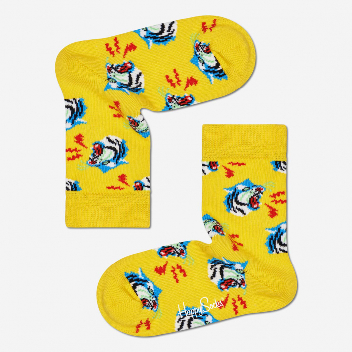 Happy Socks Kids Tiger Socks 7-9 Years 7-9 Years