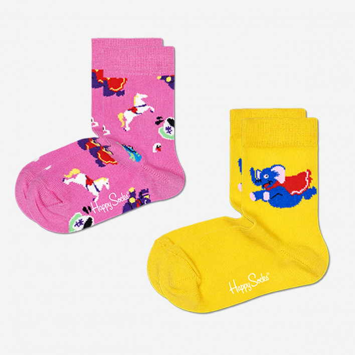 Happy Socks Kids Fun Fair Socken 2-Pack 4-6 Jahre