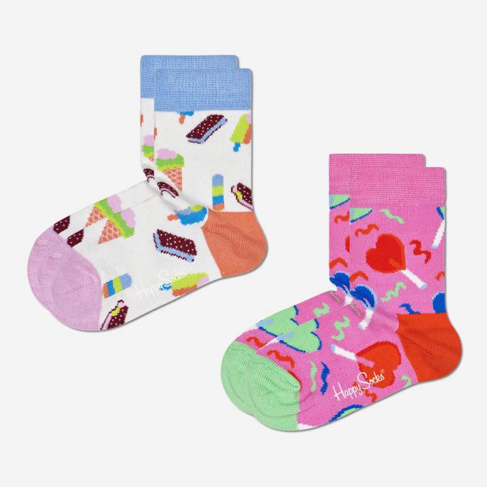 Happy Socks Kids Sweets Socken 2-Pack