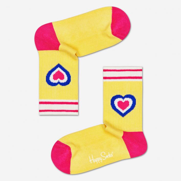 Happy Socks Kids Heart Rib Anti-Slip Socks 12-24 Months 12-24 Months