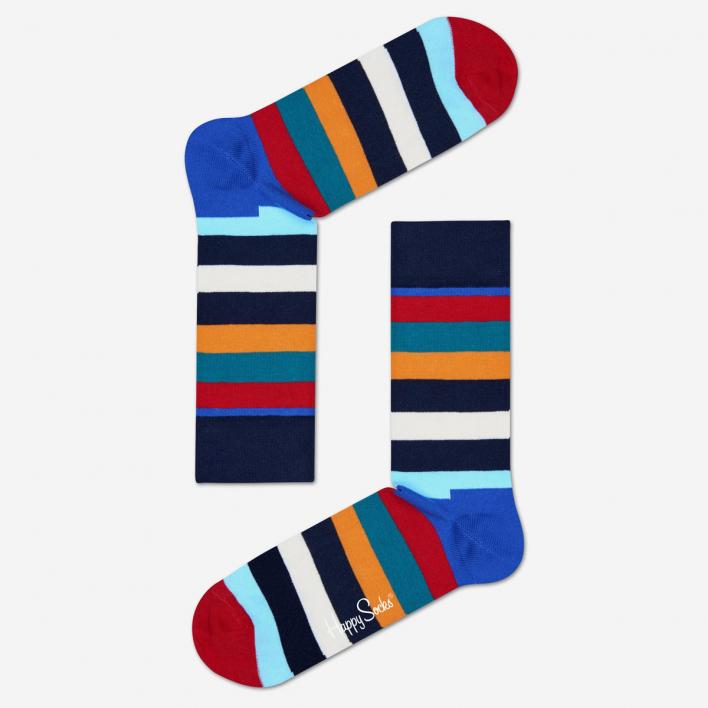 Happy Socks Stripe Socks - Blue 36-40 36-40