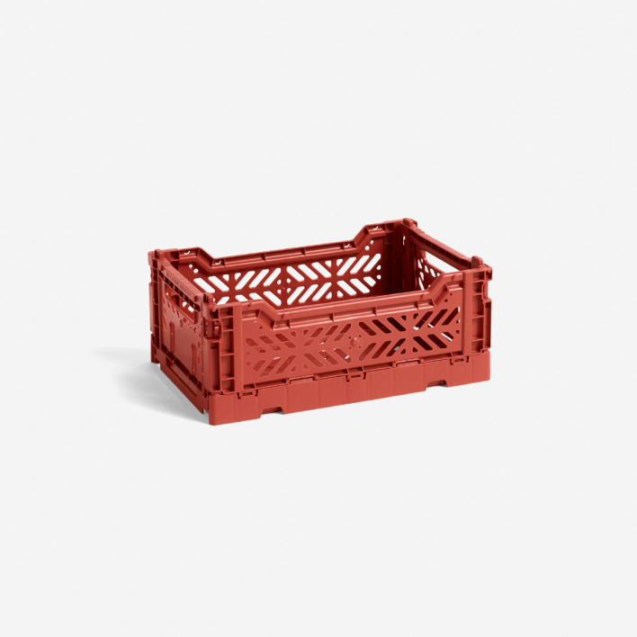 HAY Colour Crate S Terracotta - Klappbox