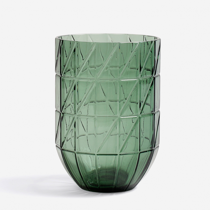 HAY Colour Vase - L Green