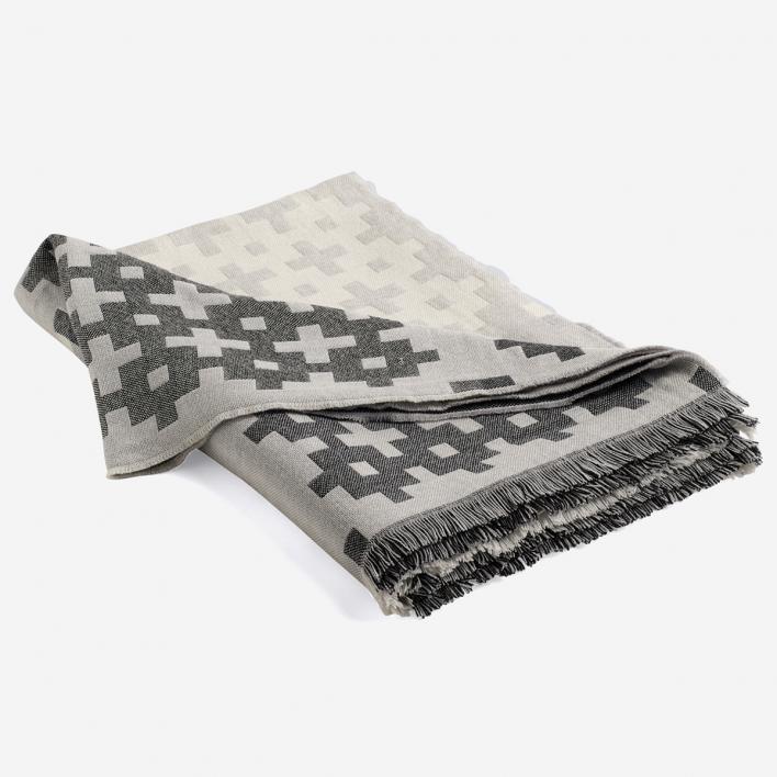 rikiki grafik produkt plus 9 grey decke aus. Black Bedroom Furniture Sets. Home Design Ideas