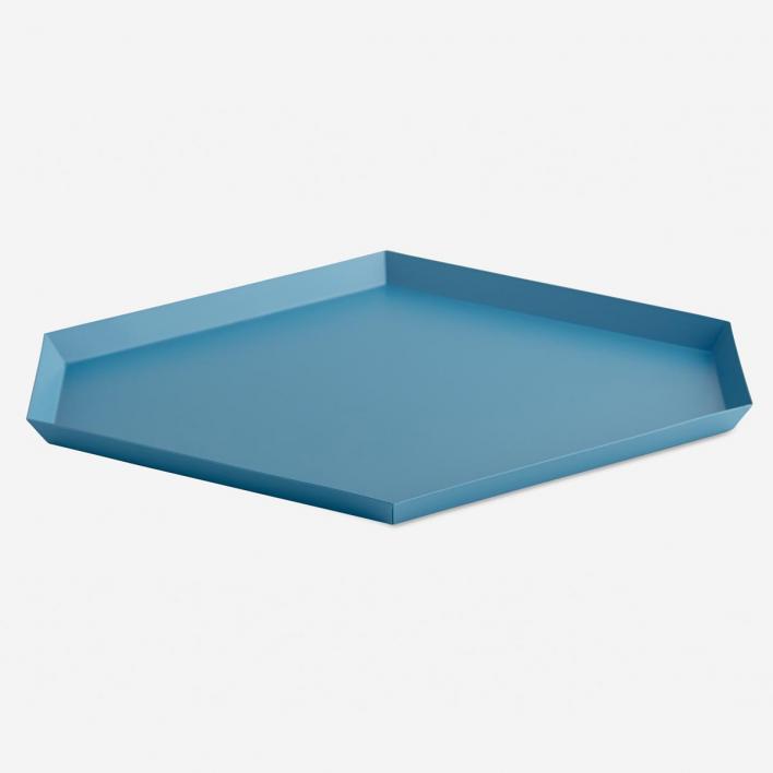 HAY Kaleido Tray L Blue