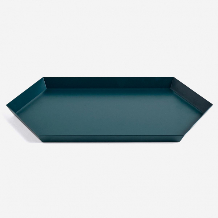 HAY Kaleido Tray M Dark Green