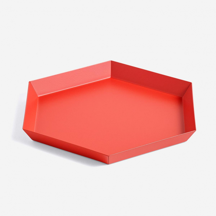 HAY Kaleido Tray S Red