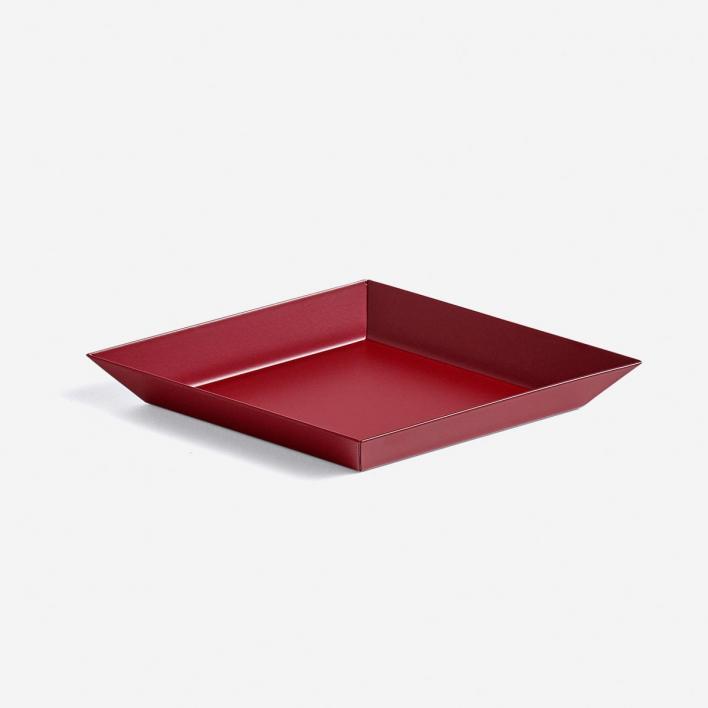 HAY Kaleido Tray XS Dark Red