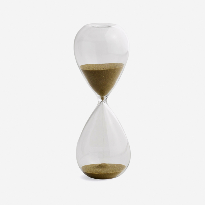 HAY Hourglass Time 15 Minutes - Gold