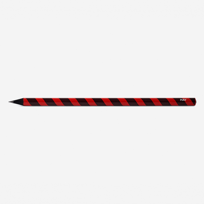 HAY Swirl Pencil Red
