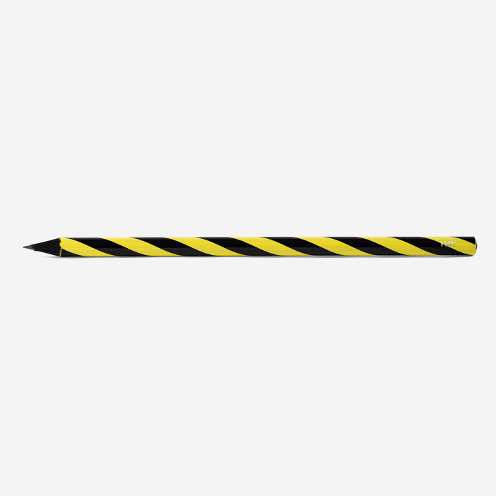 HAY Swirl Pencil Yellow