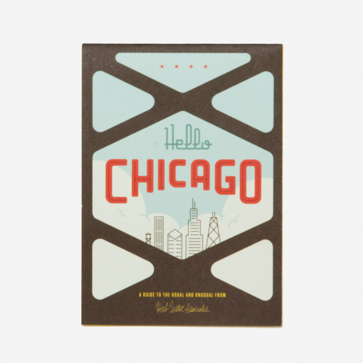Herb Lester Associates Hello Chicago City Guide