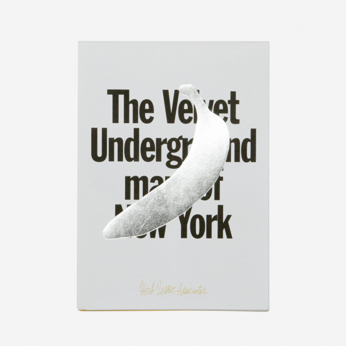 Herb Lester Associates The Velvet Underground Map of New York