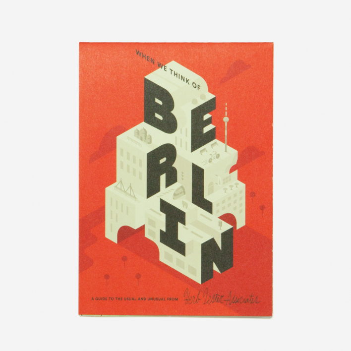 Herb Lester Associates When We Think Of Berlin City Guide