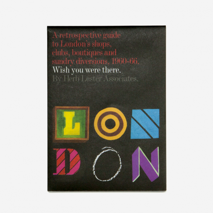 Herb Lester Associates Wish You Were There London City Guide